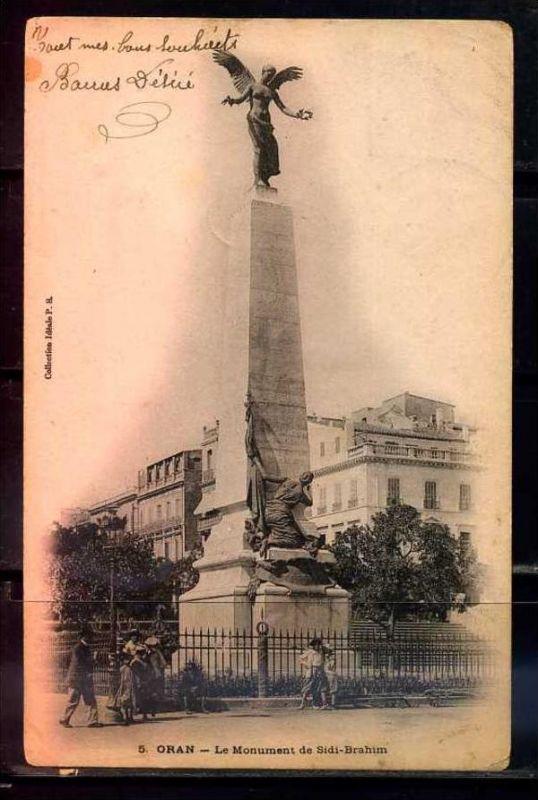 K11032)Ansichtskarte: Oran, Monument de Sidi-Brahim