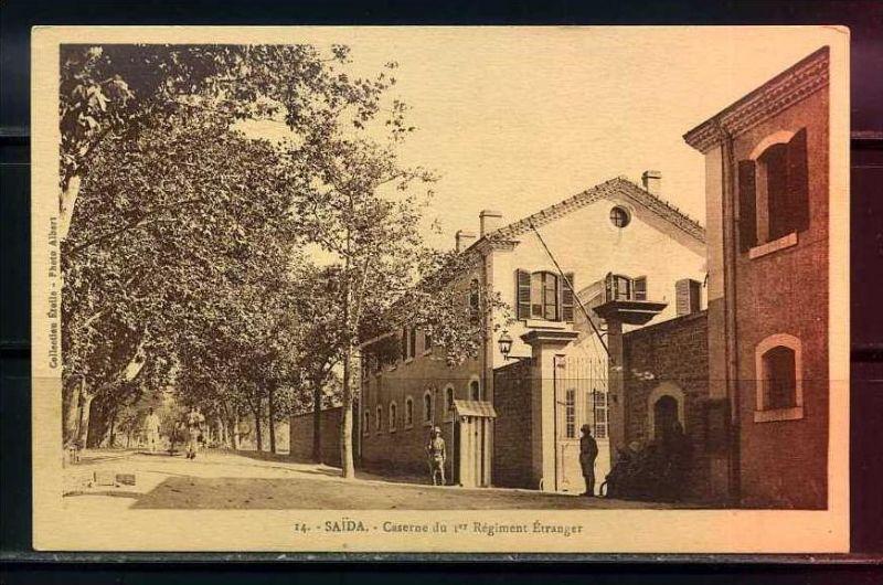 K11035)Ansichtskarte: Saida, Caserne