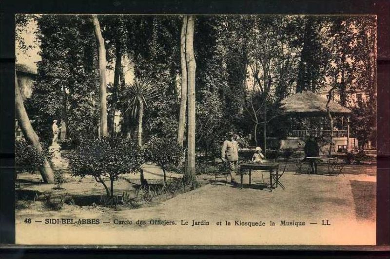 K11036)Ansichtskarte: Sidi-Bel-Abbes, Cercle des Officiers