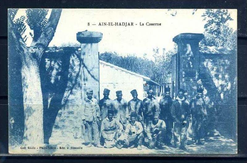 K11042)Ansichtskarte: Ain-El-Hadjar, Kaserne