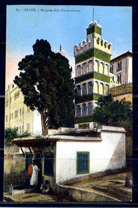 K11051)Ansichtskarte: Algier, Mosquee Sidi Abderrahman