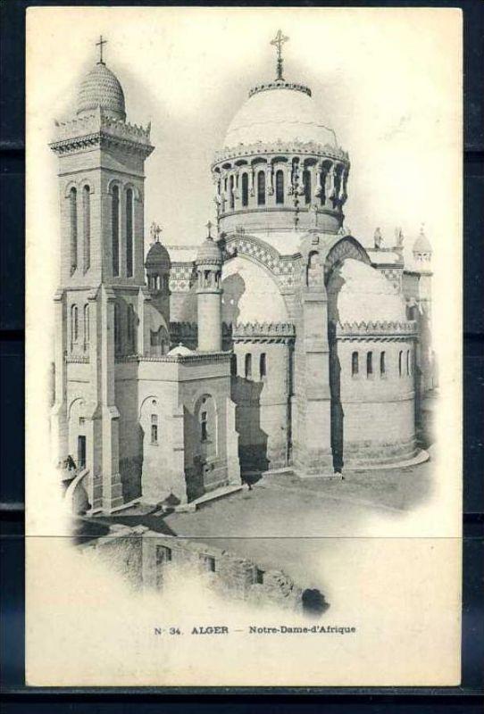 K11053)Ansichtskarte: Algier, Notre Dame D`Afrique