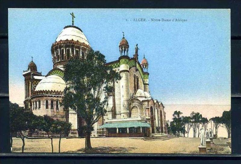 K11054)Ansichtskarte: Algier, Notre Dame D`Afrique