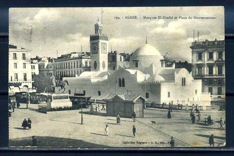 K11064)Ansichtskarte: Algier, Mosquee El Djedid