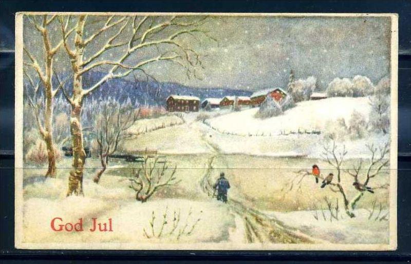 K11447)Grusskarte: Weihnachten