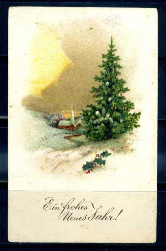 K11458)Grusskarte: Neujahr