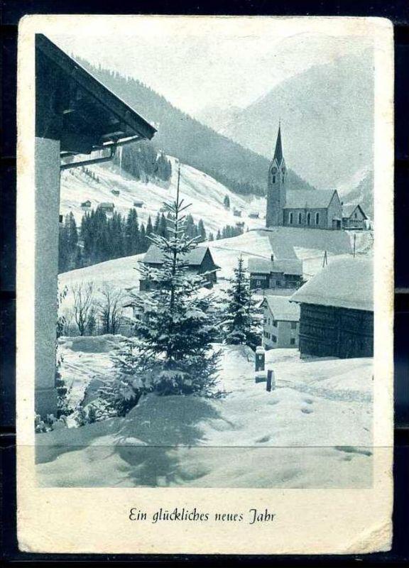 K11460)Grusskarte: Neujahr