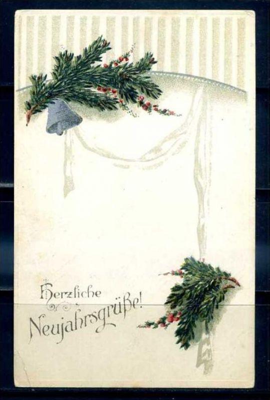 K11468)Grusskarte: Neujahr