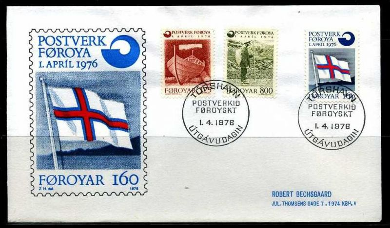 E04665)Färöer FDC 21/3