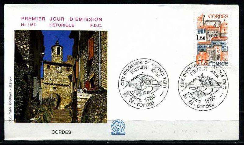 E06438)Frankreich FDC 2201