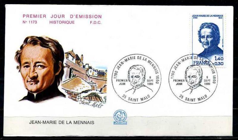 E06453)Frankreich FDC 2218