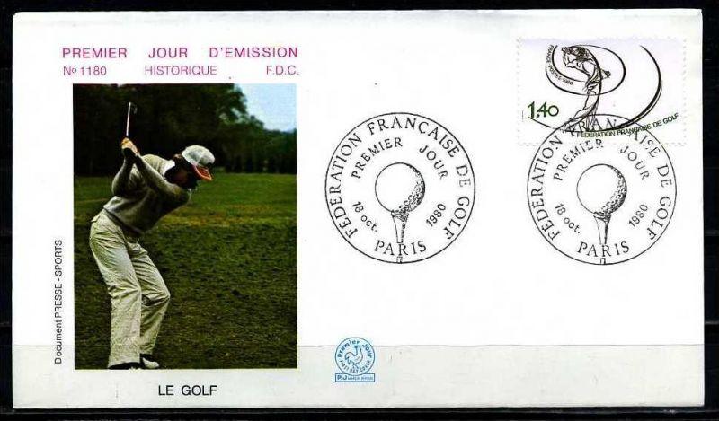 E06460)Frankreich FDC 2225 Sport