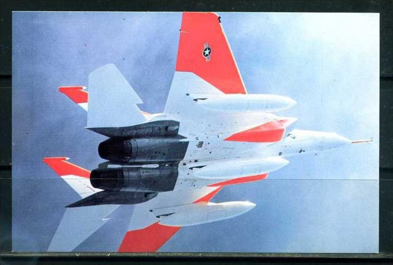 K8680)Flugzeugkarte: McDonnell-Douglas F-15A