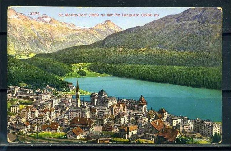 K9394)Ansichtskarte: St. Moritz