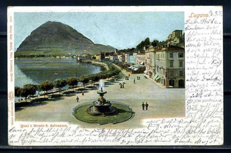 K9497)Ansichtskarte: Lugano