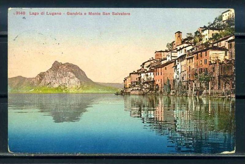 K9499)Ansichtskarte: Lugano, Gandria