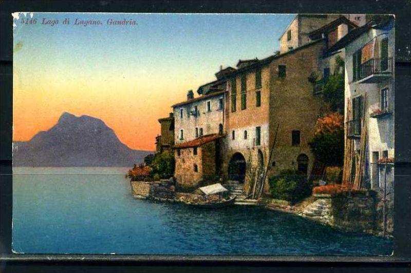 K9500)Ansichtskarte: Lugano, Gandria