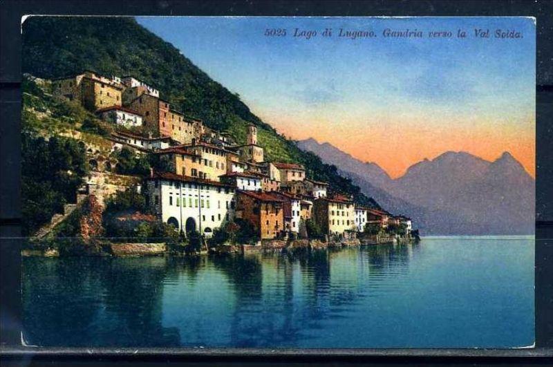 K9501)Ansichtskarte: Lugano, Gandria