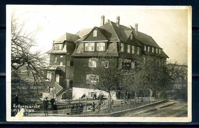 K7991)Ansichtskarte: Mörtlingen, Erholungsheim Rettungsarche