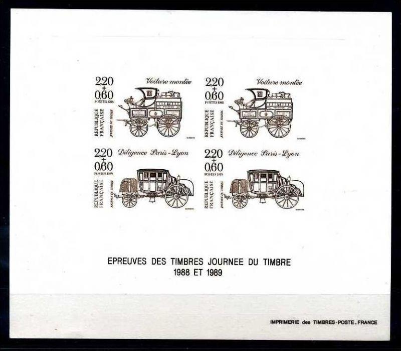 E17762)Frankreich Epreuve de la JT 2662