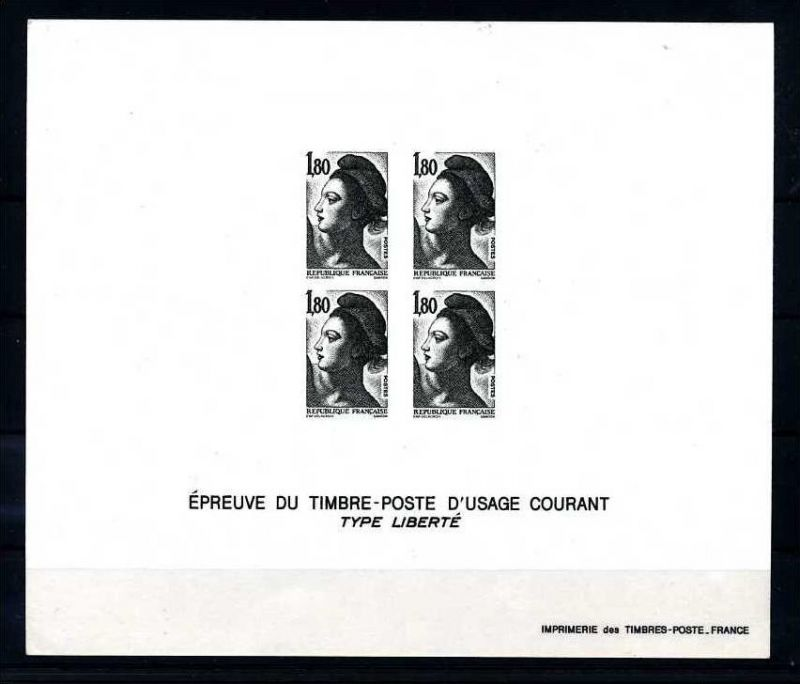 E17764)Frankreich Epreuve du TP 2339