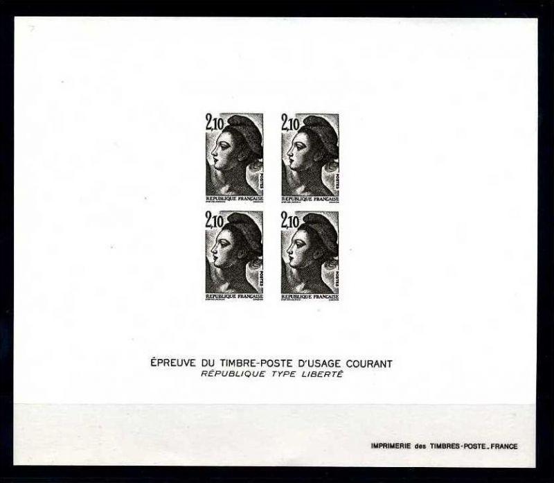 E17766)Frankreich Epreuve du TP 2455