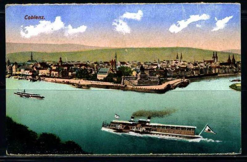 K2592)Ansichtskarte Koblenz