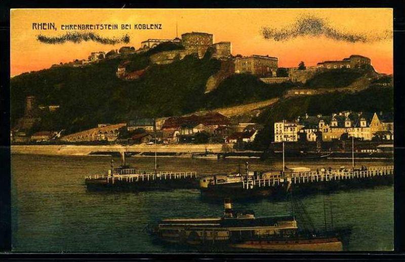 K2593)Ansichtskarte Koblenz