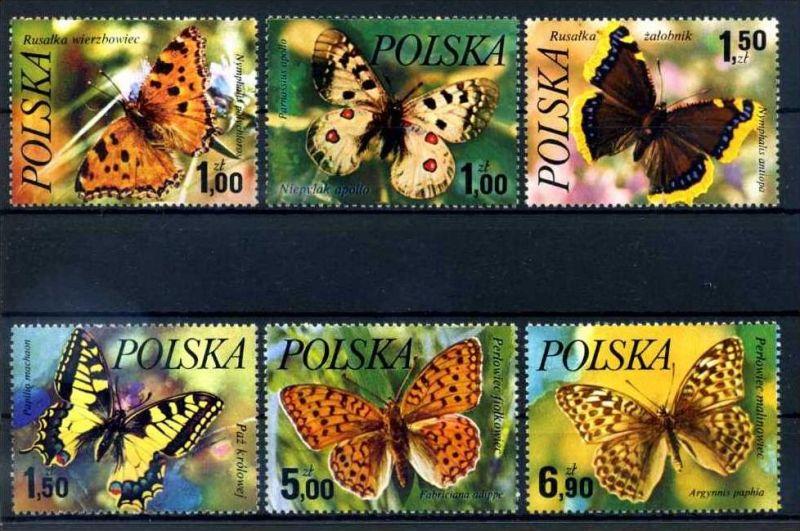 E22475)Schmetterlinge, Polen 2516/21**