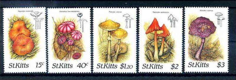 E24626)Pilze, St. Kitts 213/7**