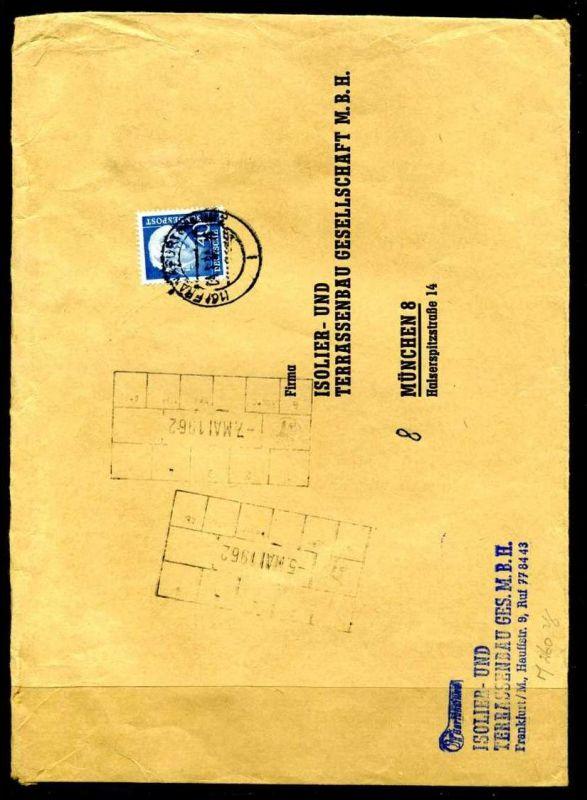 Y1856)Bund 260 Y lumogen Brief