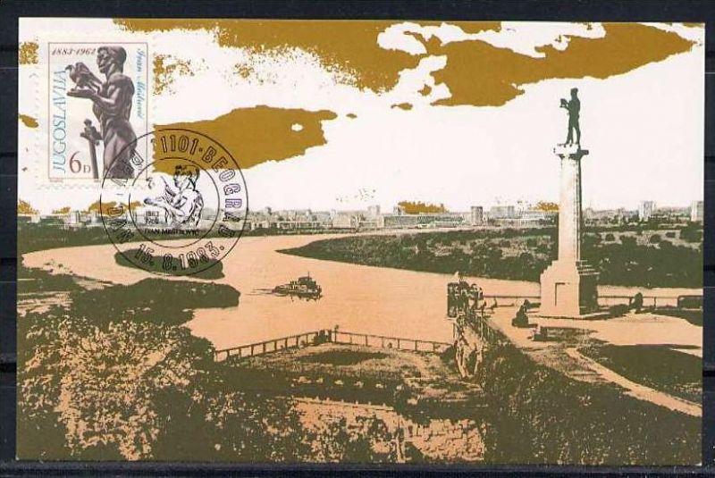 X1624)Jugoslawien Maxi-Card  1997