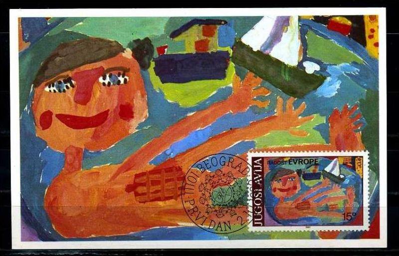X2623)Jugoslawien Maxi-Karte 1946 Cept