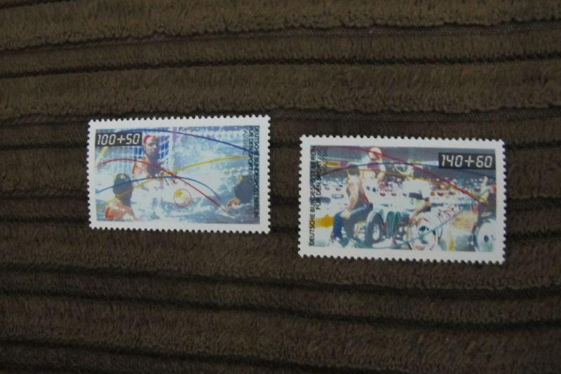 Briefmarken Berlin 1990 Sporthilfe - Wasserball u.a. - kompletter Satz, postfrisch