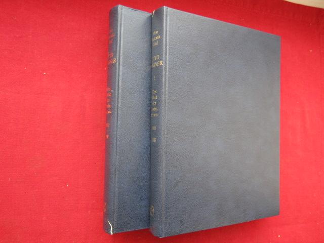 Otto Wagner - Das Werk des Architekten. Band 1 und 2 (von 3) Band 1 - 1860-1902 / Band 2 - 1903-1918. EUR