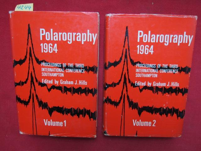 Polarography 1964 - Volume 1 and 2. (komplett). : Proceedings of the Third International Congress, Southhampton. EUR
