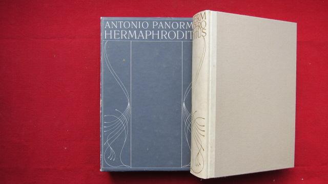 Antonio Panormita Hermaphroditus mit Apophoreta von Friedrich Carl Forberg. Kommentiert von Wolfram Körner und Steffen Dietzsch. EUR