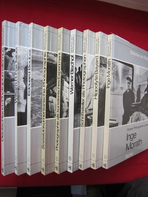 Konvolut von 9 Bänden der Reihe: Nr. 1 - 9. EUR