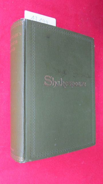 The complete works of William Shakespeare. The Oxford Shakespeare. Edited, with a glossary, by W. J. Craig. EUR