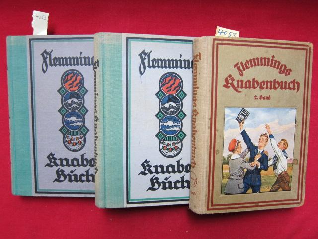 Flemmings Knabenbuch : Bände 2-4 : EUR