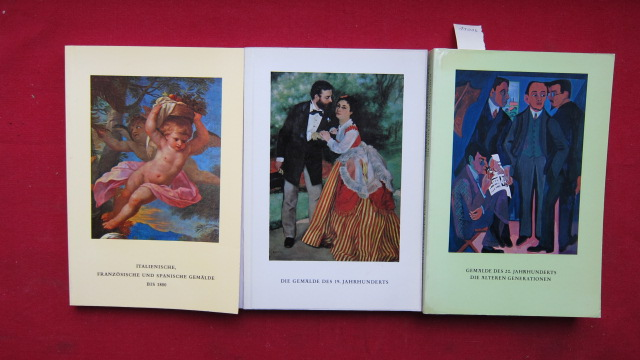 Kataloge des Wallraff-Richartz-Museum Köln : Konvolut aus 3 Bänden. EUR