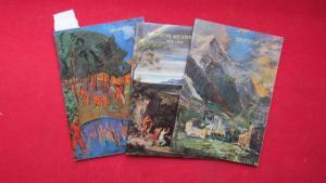 Konvolut aus 3 Bänden: 1) Deutsche Meister : 1880 - 1930 // 2) Deutsche Meister : 1800 - 1850 // 3) Erich Heckel. EUR