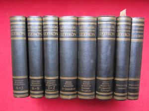Gutenberg-Konversationslexikon - 8 Bände (komplett). Ca. 160 000 Stichwörter - 6000 Abbildungen - 100 Tafeln - 244 Karten. EUR