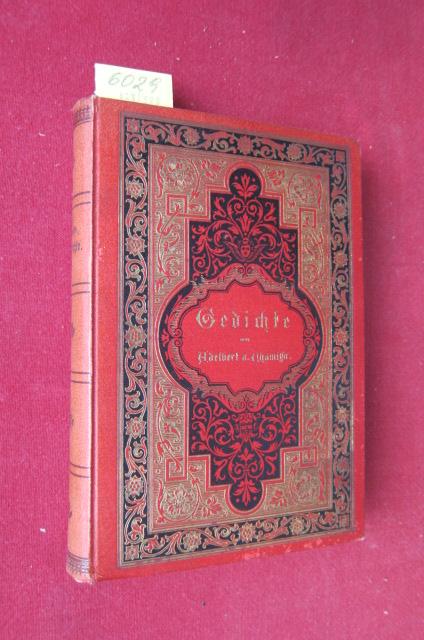 Gedichte [Louis Charles Adelaide Chamisso de Boncourt] EUR