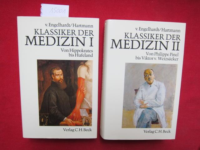 Klassiker der Medizin. Band 1 und 2. [komplett] Bd. 1: Von Hippokrates bis Hufeland. [3406355366] / Bd. 2: Von Philippe Pinel bis Viktor v. Weizsäcker [3406355374]. EUR