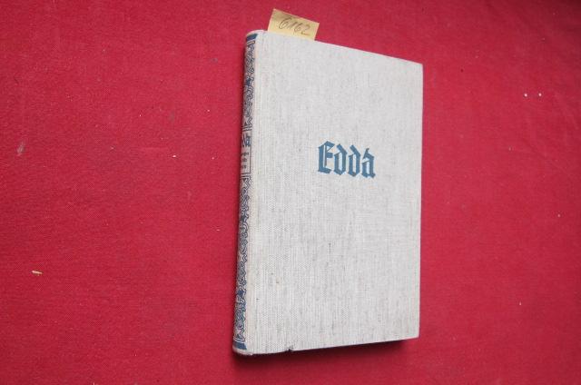 Die Edda : Übertragen von Felix Genzmer. Buchaustattung: Max Thalmann. EUR