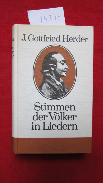 Stimmen der Völker in Liedern. [Hrsg. u. Nachwort von Christel Käschel] EUR
