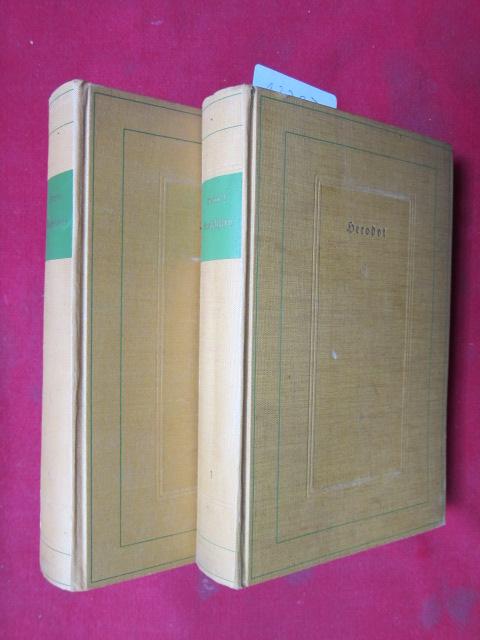 Des Herodots von Halikarnassos Geschichten. 2 Bände (komplett) EUR