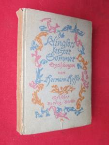 Klingfors letzter Sommer - Erzählungen von Hermann Hesse. EUR