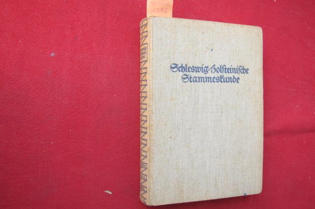Schleswig-Holsteinische Stammeskunde (Deutscher Sagenschatz) Stammeskunde deutscher Landschaften, herausgegeben von Paul Zaunert. - Schleswig-Holsteiner Sagen. Gesammelt u.herausgegeben von Gustav Fr.Meyer. EUR